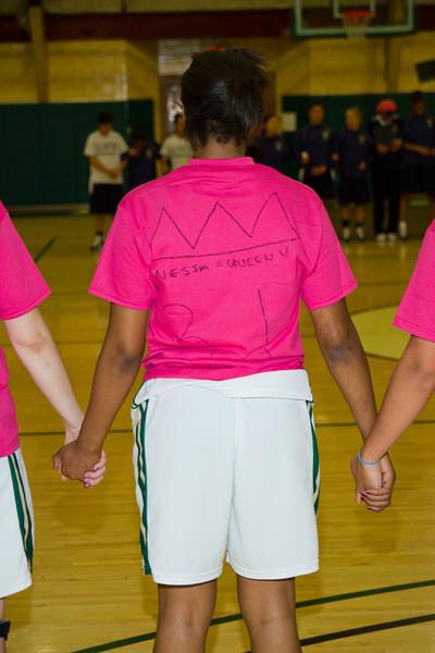 PUC Lady Pioneers Basketball Senior Night