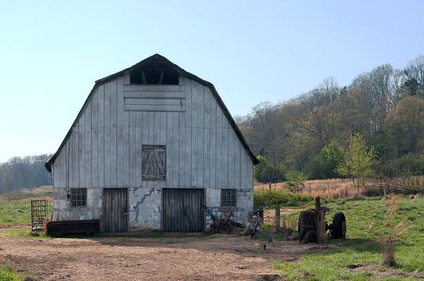 Vaughters Farm Trail Head