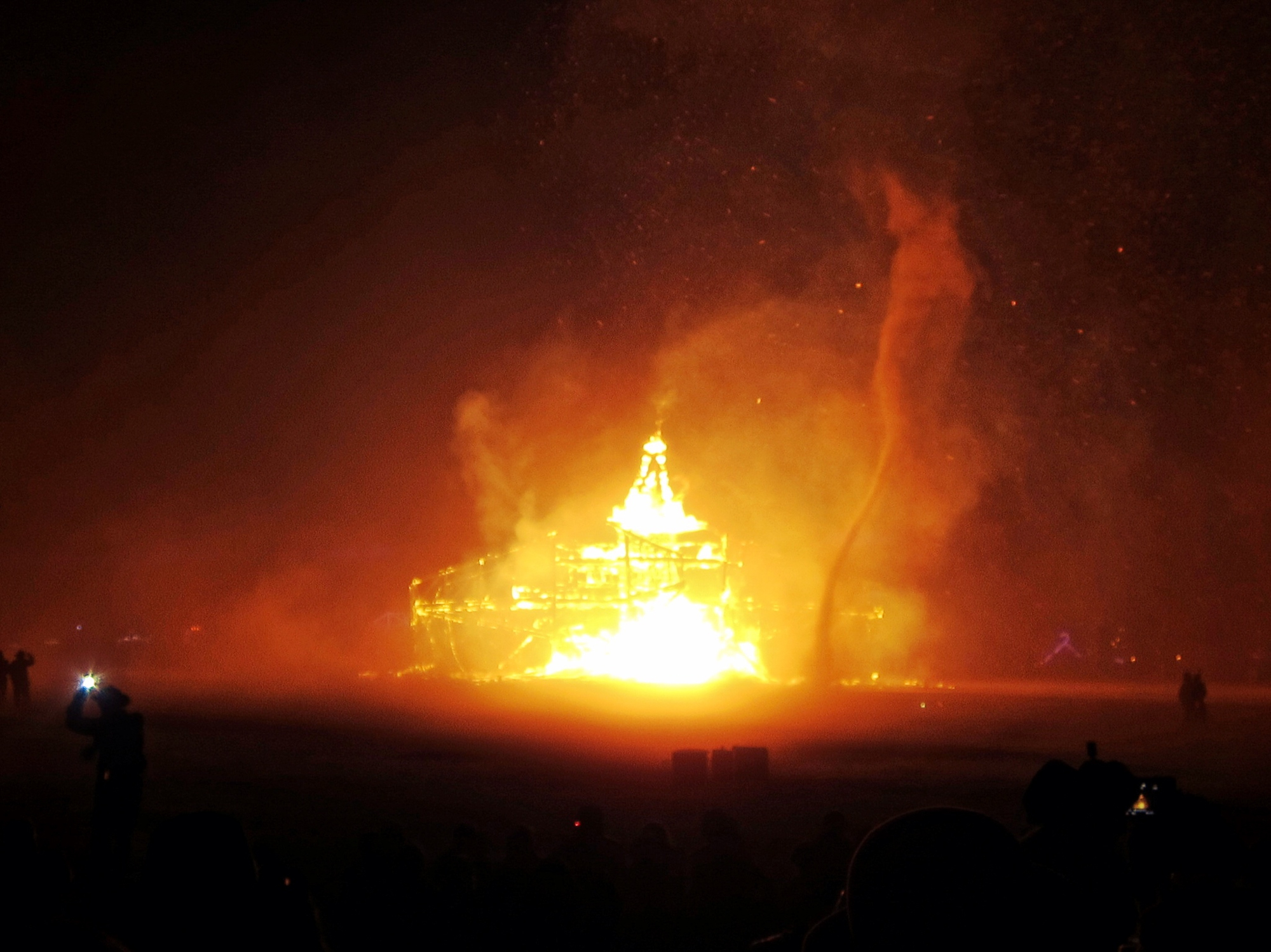 Burning Man Burn