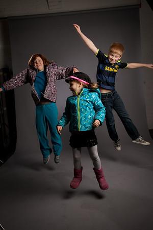Meg McM & kids