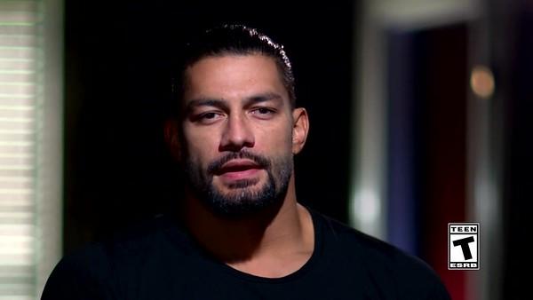 Roman Reigns - Screencaps WWE2k Special Video
