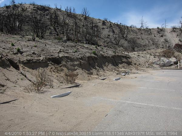 2010-04-04-Strawberry Peak Trail Damage (north end)