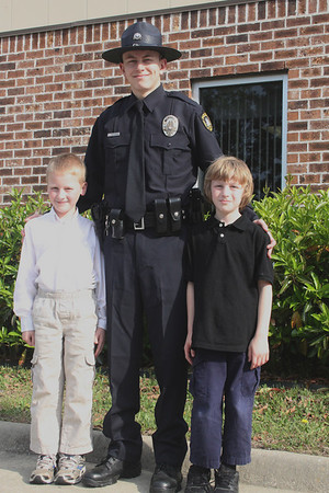 Ryan's Police Academy Graduation