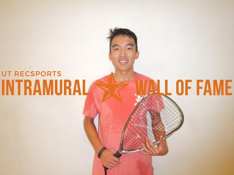 Fall 2016 Racquetball Singles Mens B Champ