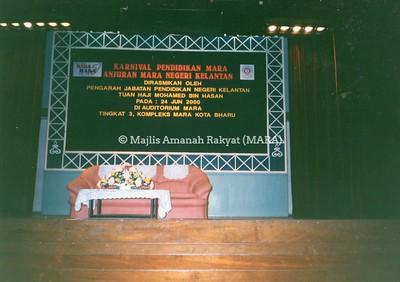 2000 - KARNIVAL PENDIDIKAN MARA, ANJURAN MARA NEGERI KELANTAN