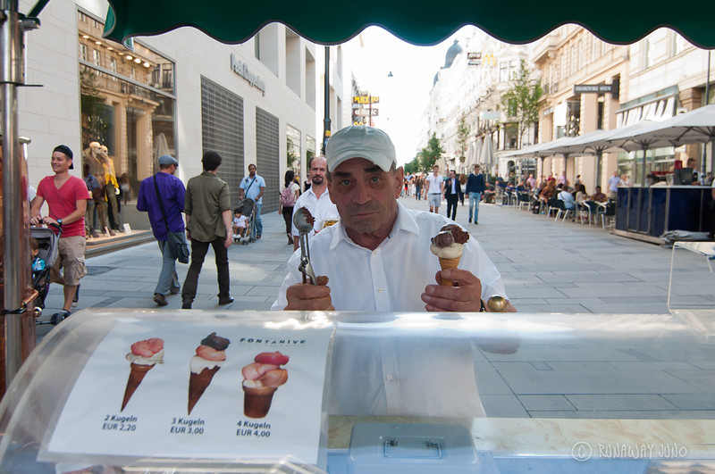 Icecream vendor