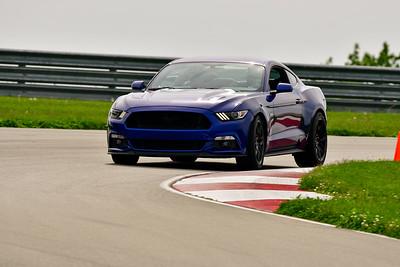 2019 SCCA May TNiA Pitt Race Dk Blue Mustang