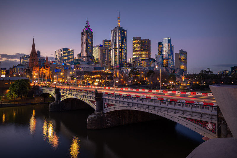 Crossing the Yarra || Melbourne