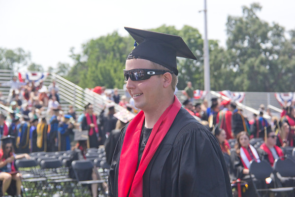 Jordan Kearns Graduation Chico State