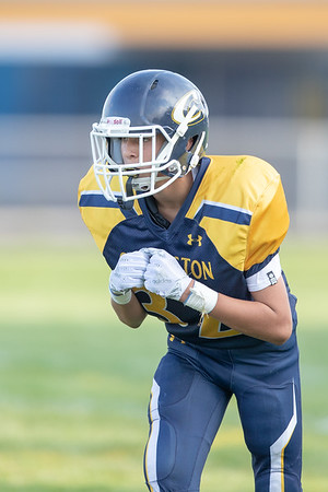 2018 09 18 Clarkston CJHS 8th Grade Football vs Waldon