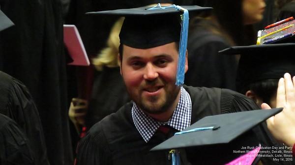 Joe Rusk Graduation part 1