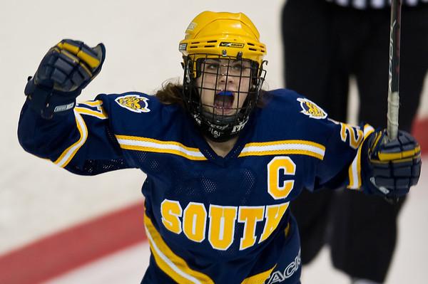 GPNorth v GPSouth, Hockey, Girls, 2-9-11