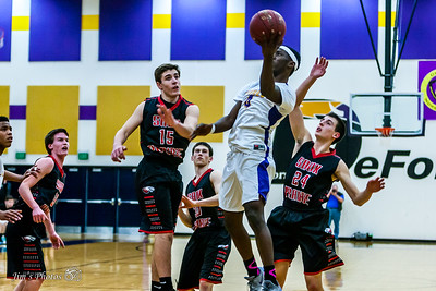 HS Sports - DeForest Boys Basketball - Feb 25, 2016