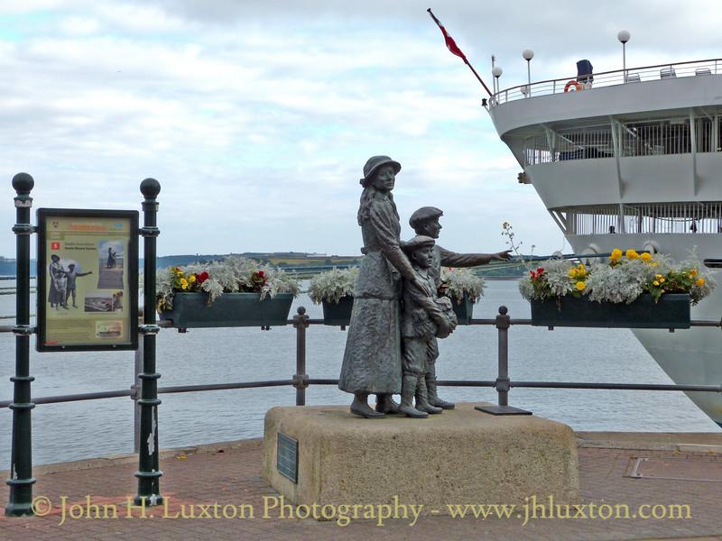 Annie Moore, Cóbh, County Cork, Eire - August 27, 2013