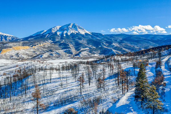 West Spanish Peak, Colorado - Jan 2, 2019