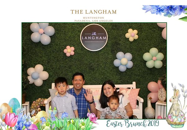 Easter Brunch at Langham Pasadena