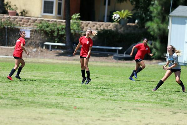 Beckman Girls Soccer - White Team 07.31.17