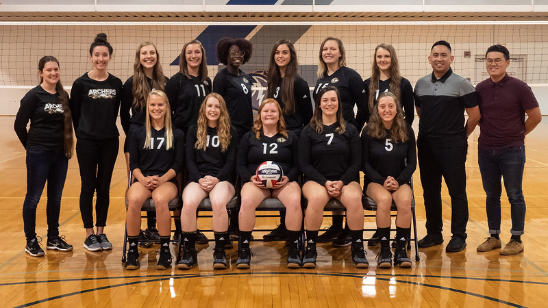 Moody Bible Institute Women's Volleyball 2018