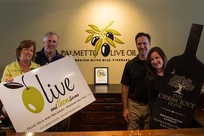 Palmetto Olive Oil BTC 2014