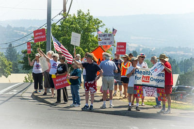 Walden Flash Rally at the Country Club
