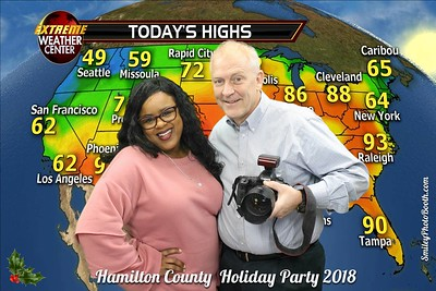 Hamilton County Holiday Party 2018