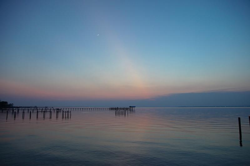 Suset over Apalachicola Bay