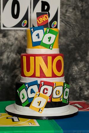 Jacob's Uno Birthday