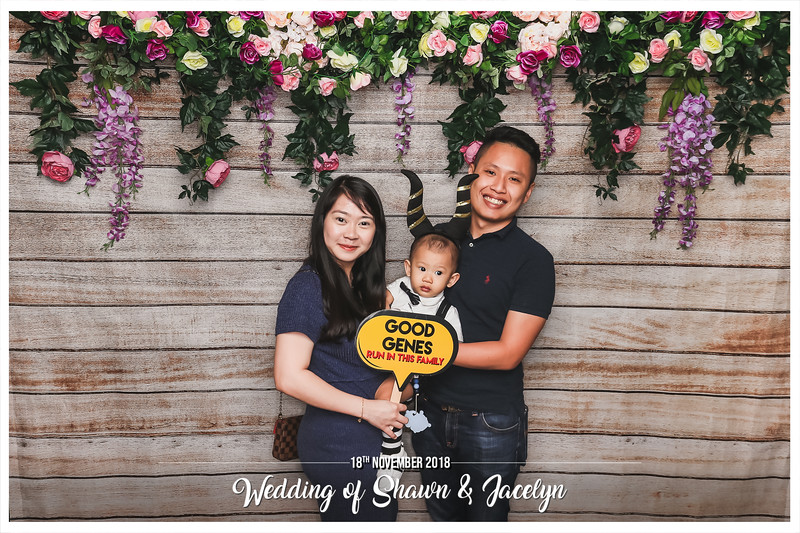 Wedding of Shawn & Jacelyn | © www.SRSLYPhotobooth.sg