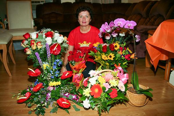 Celebrating Rodica, 50th Birthday - September, 2009