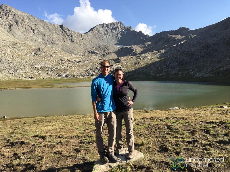 Alpine Lakes in the Lake Afternoon - Jyrgalan Trek, Kyrgyzstan