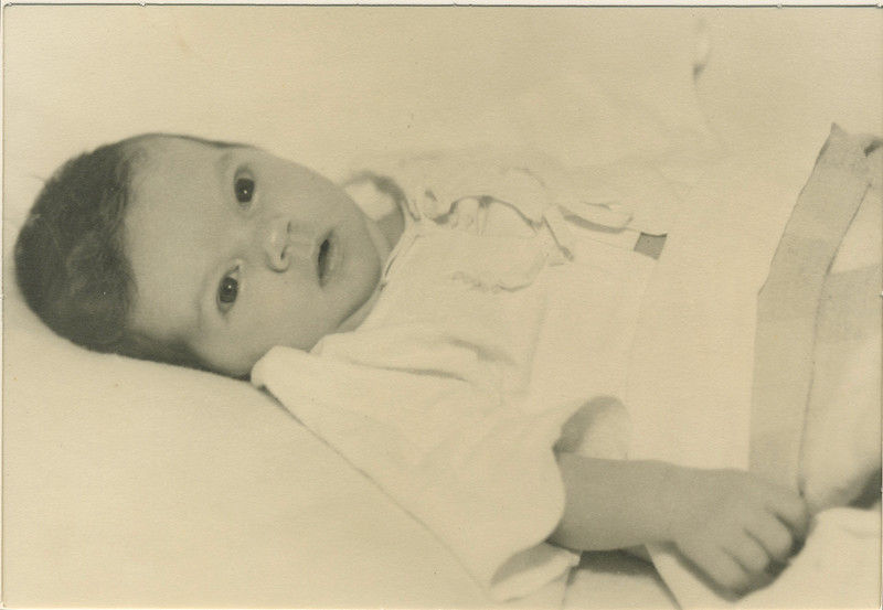 Karen Bloom 13 days old, June 15, 1944