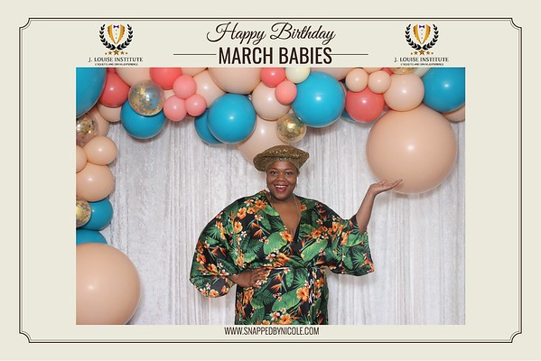 Happy Birthday March Babies! 3.31.19