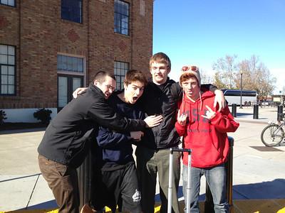 Sam, Aubrey, Sean & Oleg, Dec 2012