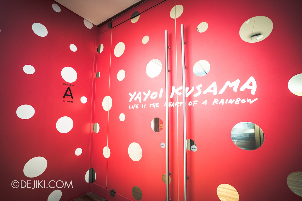 National Gallery Singapore - Yayoi Kusama: Life Is The Heart of A Rainbow / Red Entrance