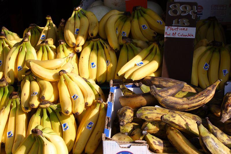 Bananas and Plantines (sic)