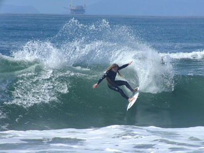 DAILY SURFING PHOTO * 3/22/19 * H.B. PIER