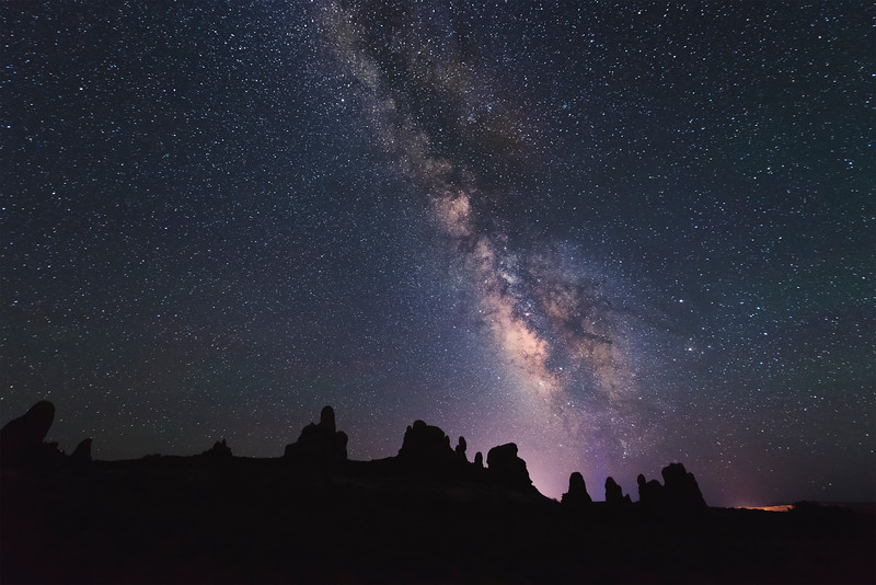 Turret Formation Milky Way