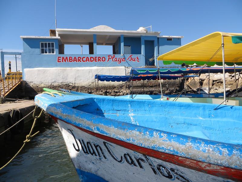 """Ferry terminal"" Mazatlan-style"