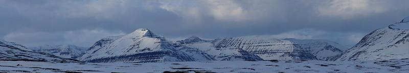 Stoll mountain: Skidadalur meets Svarfadardalur