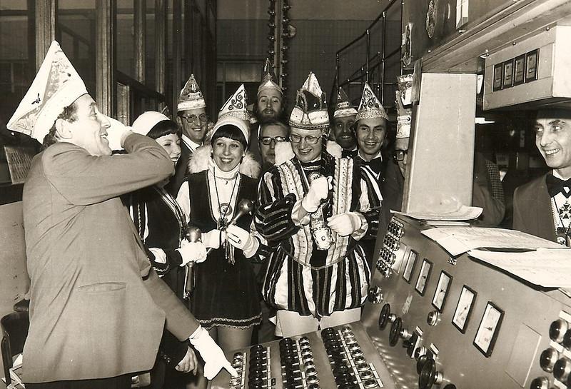 Bedrijvenbezoek bij de centrale, bij Jan van Wichen