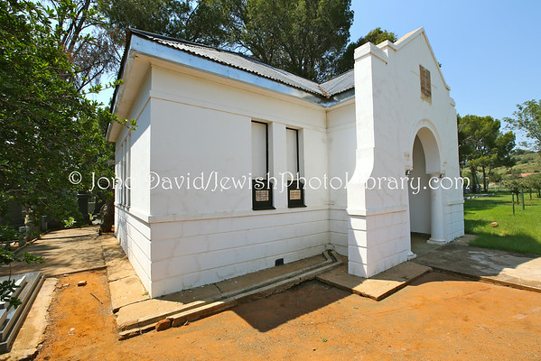 SOUTH AFRICA, Free State, Bloemfontein. Jewish Cemetery (old), at Memoriam Cemetery (2.2014)
