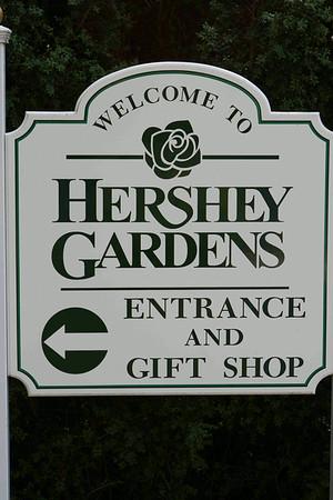 Hershey Garden Engagement