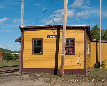 Carroll Country NH Train Depots