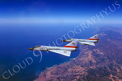 Flying California Air National Guard Convair F-106 Delta Dart Airplane Pictures