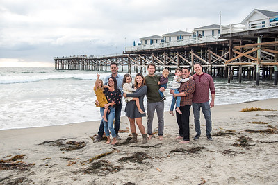 Giaquinto Family Photos at Crystal Pier