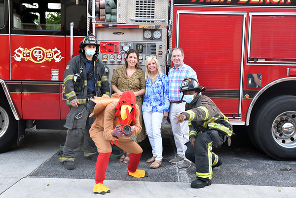 Nov 23, 2020 Cancer Alliance's Turkey Giveaway at the Palm Beach Firehouse