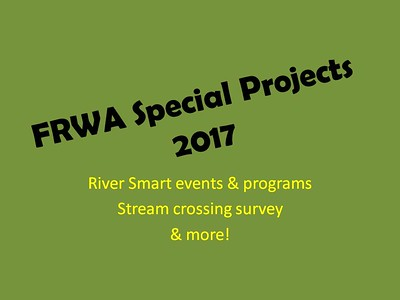 FRWA 2017 Special Projects