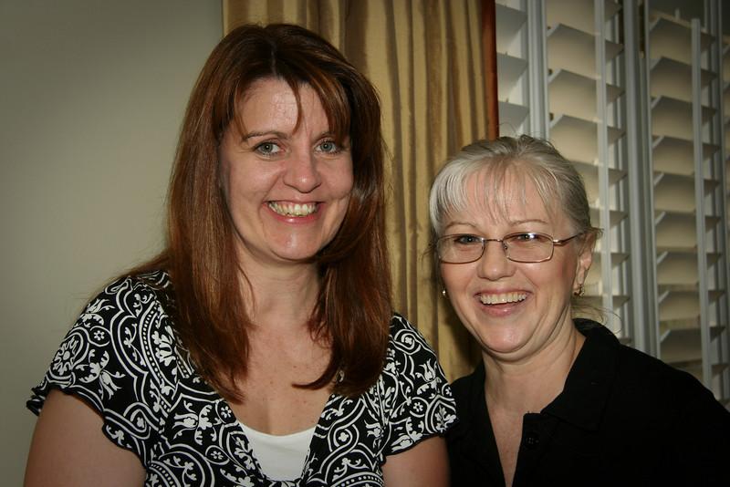 Kathy Higginson, Debbie Holloway