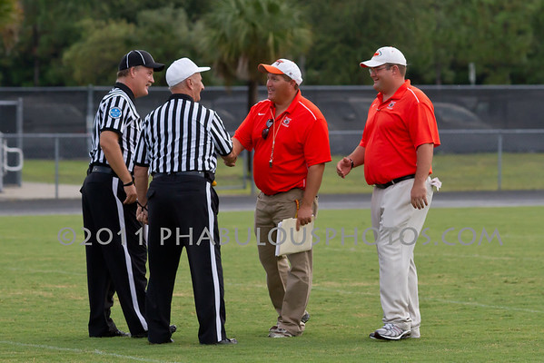 Boone JV Football Coaches - 2011