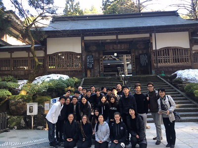 Students Experience Temple Living at Eiheiji